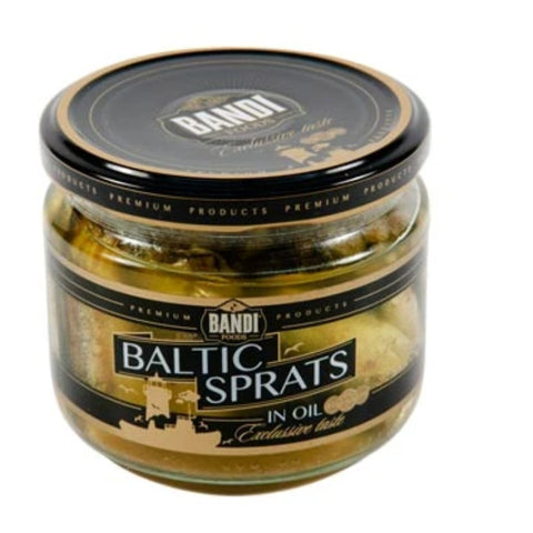 BANDI FOODS BALTIC SPRATS IN OIL
