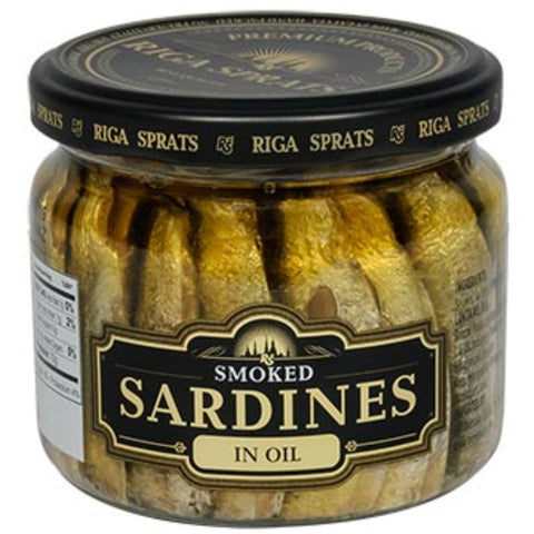 BANDI FOODS SMOKED BALTIC SARDINES IN OIL