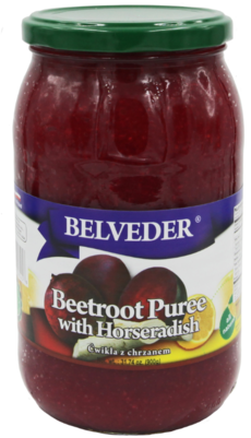 BELVEDER BEETROOT PURE WITH HORSERADISH