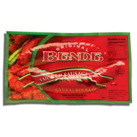 BENDE SMOKED SAUSAGE - European Grocery USA