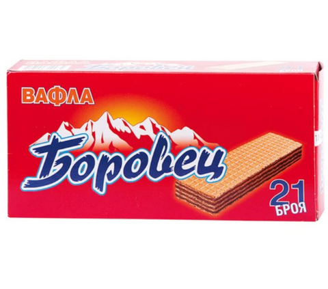 BOROVETS 21 PIECES PLAIN WAFERS