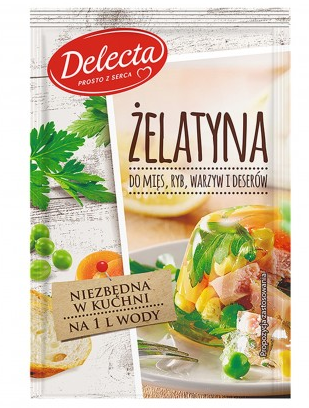 DELECTA ZELATYNA DO MIES RYB WARZYW DESEROW - European Grocery USA