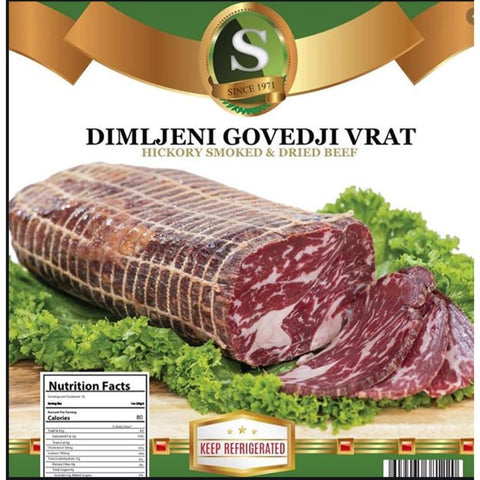 DIMLJENI GOVEDJIVRAT HICKORY SMOKED & DRIED BEEF - European Grocery USA