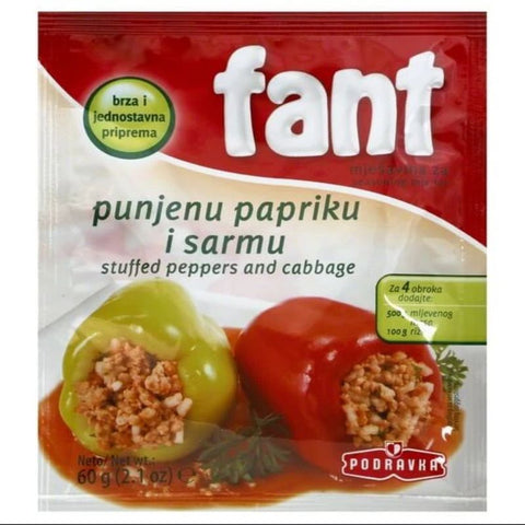 FANT STUFFED PEPPERS - European Grocery USA