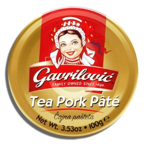 GAVRILOVIC TEA PORK PATE