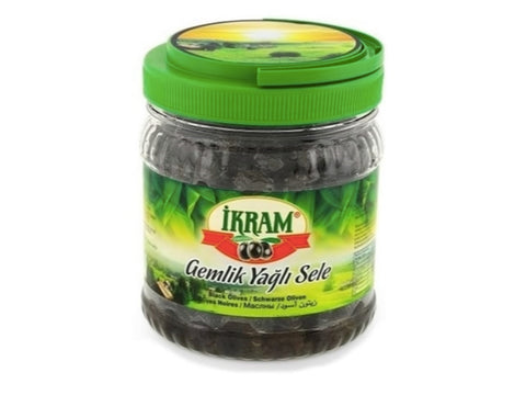 IKRAM GOLD NATURAL BLACK OLIVES