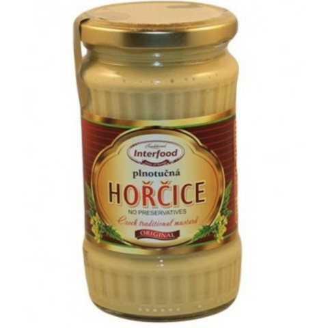 INTERFOOD HORCICE KREMZSKA CZECH REPUBLIC TRADITIONAL MUSTARD