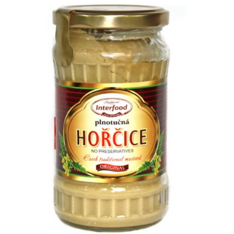 INTERFOOD HORCICE PLNOTUCNA CZECH REPUBLIC TRADITIONAL MUSTARD