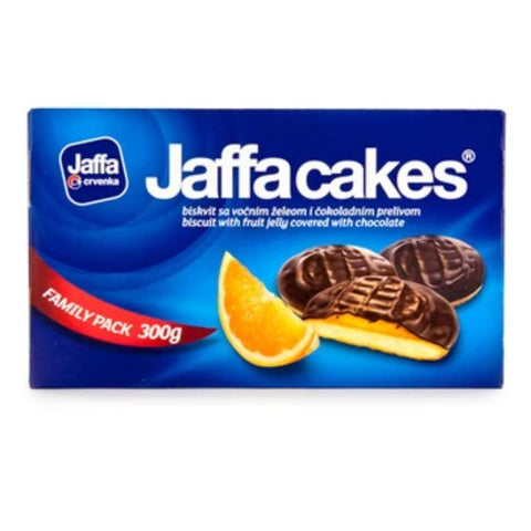 JAFFA CAKES BISCUIT WITH FRUIT JELLY COVERED WITH COHOCOLATE