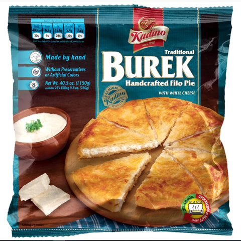 KADINO BUREK HANDMADE FILO PIE WITH FRESH CHEESE