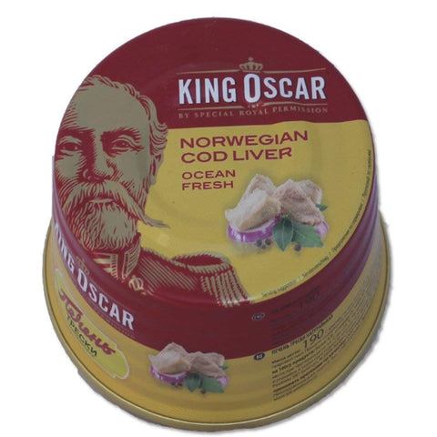 KING OSCAR NORWEGIAN COD LIVER OCEAN FRESH