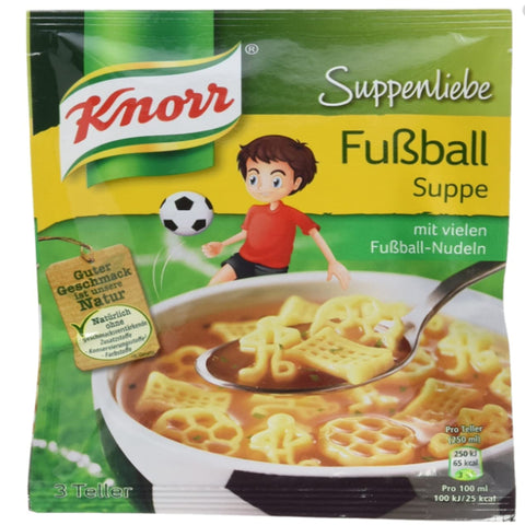 KNORR FUSSBALL SUPPE