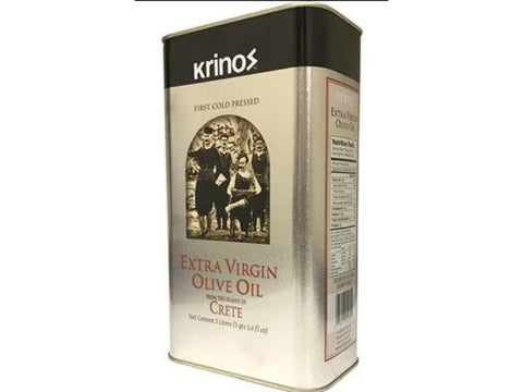 KRINOS EXTRA VIRGIN OLIVE OIL