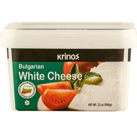 KRINOS WHITE CHEESE BULGARIAN NET 908 GRAM - European Grocery USA