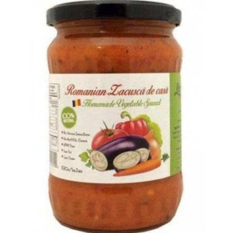 LIVADA ROMANIAN ZACUSCA DE CASA HOMEMADE VEGETABLE SPREAD