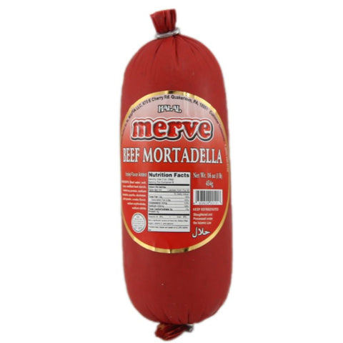 MERVE BEEF MORTADELLA SMOKY FLAVOR ADDED **PRICE PER POUND** - European Grocery USA