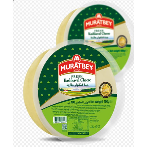 MURATBEY FRESH KASHKAVAL CHEESE NET 400 G - European Grocery USA