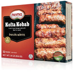 NEMA HALAL QUALITY KOFTA KEBAB FRESH FROZEN SAUSAGE MADE WITH BEEF & LAMB