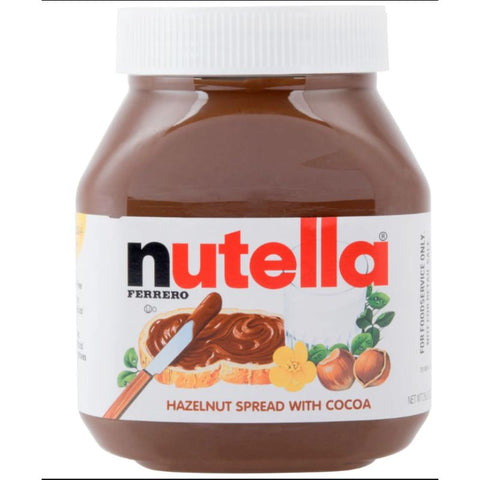 NUTELLA 750 GRAM (MADE IN EUROPE)