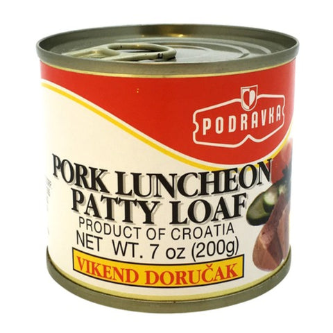 PODRAVKA PORK LUNCHEON PATTY LOAF