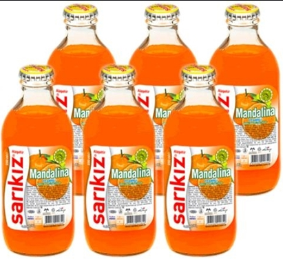 SARIKIZ MANDARIN 6'LI / PACK OF 6 - European Grocery USA