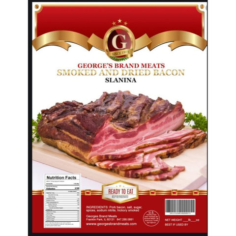 SLANINA HICKORY&DRIED BACON **PRICE PER POUND** - European Grocery USA