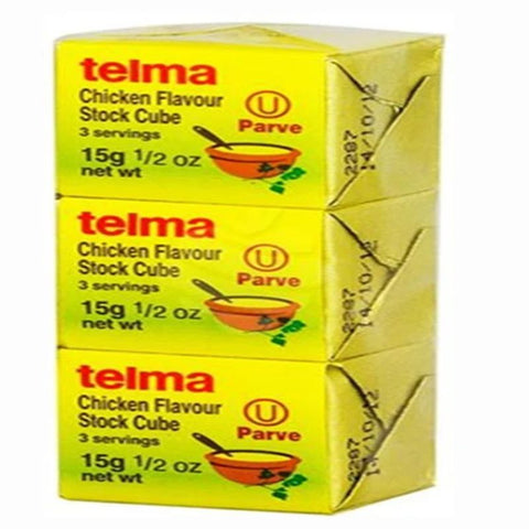 TELMA CHICKEN FLAVOUR STOCK CUBE - European Grocery USA