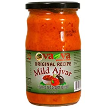 VAVA ORIGINAL RECIPE MILD AJVAR ROASTED RED PEPPER SPREAD