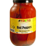 VAVA RED PEPPERS LONG RED PEPPER FILETS