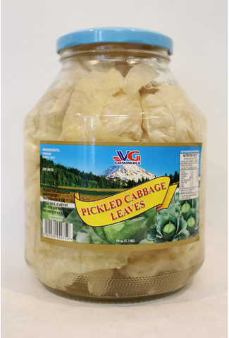 VG COMMERCE PICKLED CABBAGE LEAVES