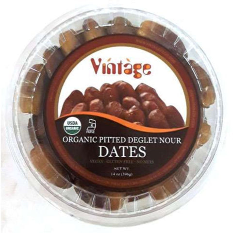 VINTAGE ORGANIC PITTED DEGLET NOUR DATES - HURMA