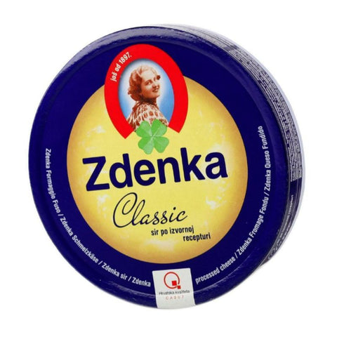 ZDENKA PROCESSED CHEESE 8 X 17.5 NET 140 G - European Grocery USA