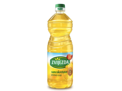 ZVIJEZDA SUNFLOWER OIL NET 1 LITER