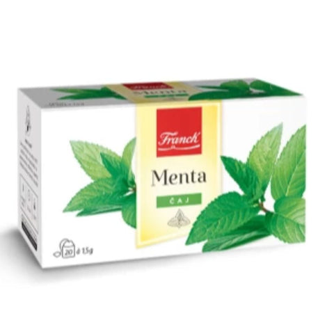 FRANCK MENTA 20 TEA BAGS - European Grocery USA