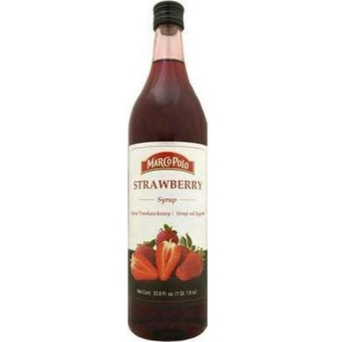 MARCO POLO STRAWBERRY SYRUP - European Grocery USA