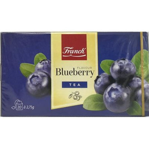 FRANCK BLUEBERRY 20 TEA BAGS - European Grocery USA