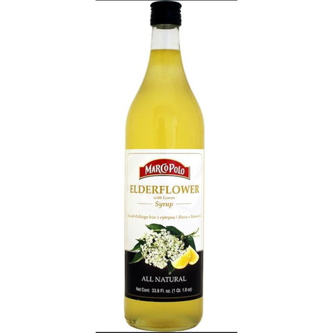 MARCO POLO ELDER FLOWER WITH LEMON SYRUP - European Grocery USA