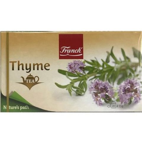 FRANCK THYME 20 TEA BAGS - European Grocery USA