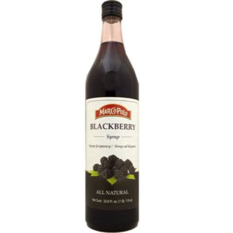 MARCO POLO BLACKBERRY SYRUP - European Grocery USA