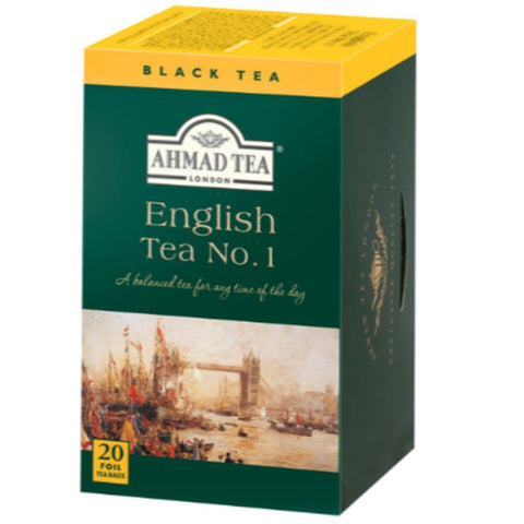 AHMAD TEA ENGLISH TEA NO.1 PEACK OF 20 TEA BAGS - European Grocery USA