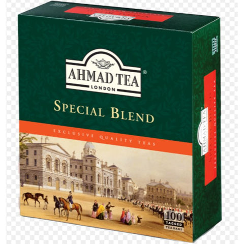 AHMAD TEA SPECIAL BLEND PACK OF 100 TEA BAGS - European Grocery USA
