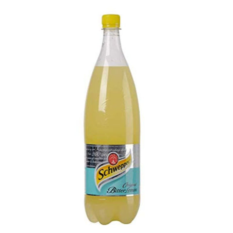 SCHWEPPES BITTER LEMON  1.5 LT - European Grocery USA