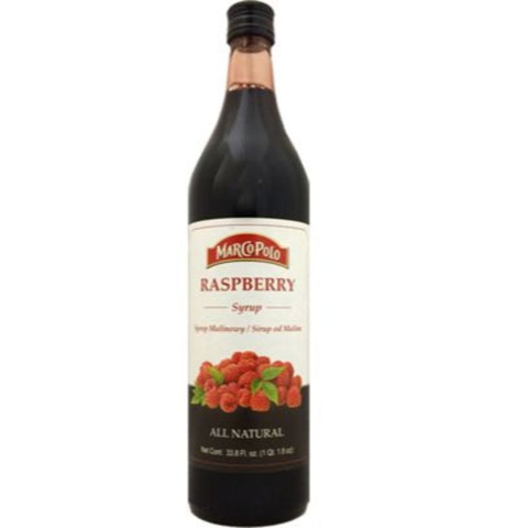 MARCO POLO RASPBERRY SYRUP - European Grocery USA
