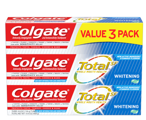 Colgate Total SF Whitening Gel Toothpaste - The Bath Club