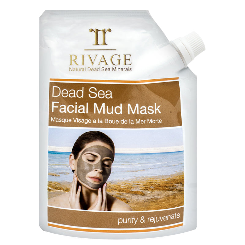 Dead Sea Facial Mud Mask 200g Pouch - The Bath Club, INC