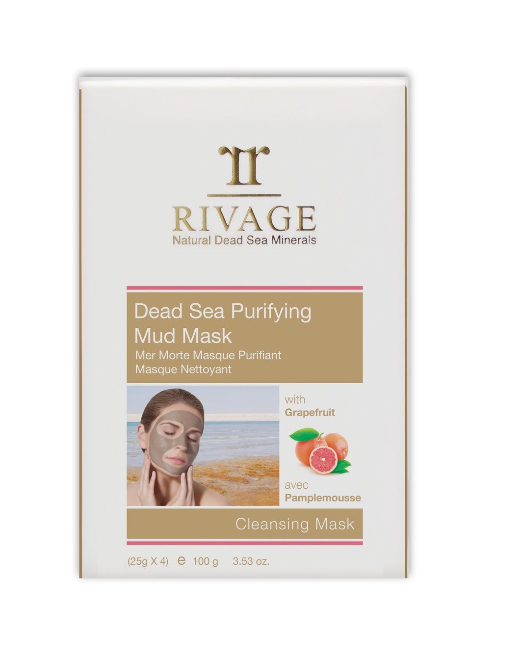 Dead Sea Purifying Mud Mask / Cleansing Mask  - The Bath Club, INC