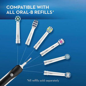 Oral-B Pro 1000 (Black) Rechargeable Electric Toothbrush - The Bath Club, INC