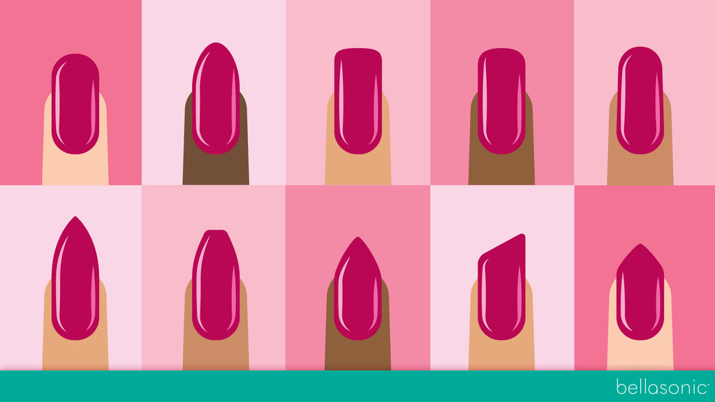 How To Pick The Best Nail Shape For You - Bellasonic Beauty