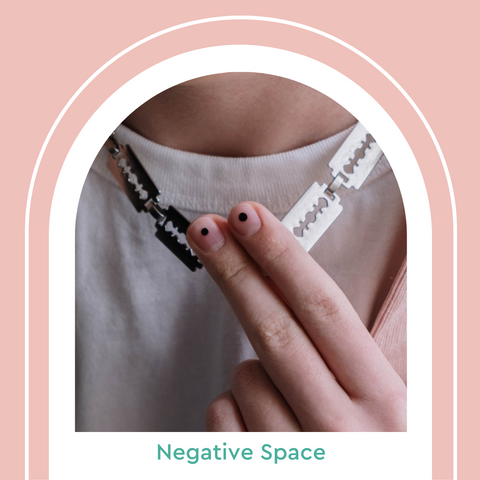 Negative Space Manicure Nail Art Summer 2021 Nail Trends