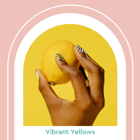 Vibrant Yellow Nail Colors Manicure Summer 2021